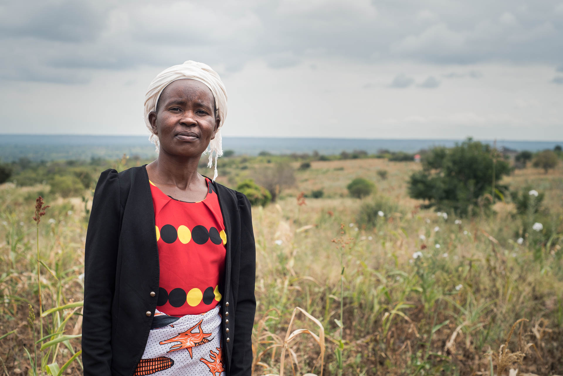 Rose Kilonzo, a client of Pula, has the insurance she needs to protect her family in case of a bad harvest.