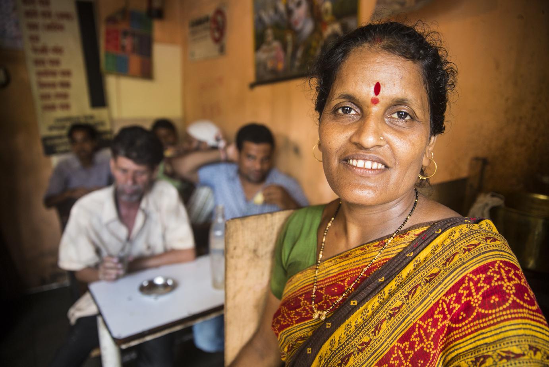 Restaraunt owner and Swadhaar client, Pratiska Mahdik