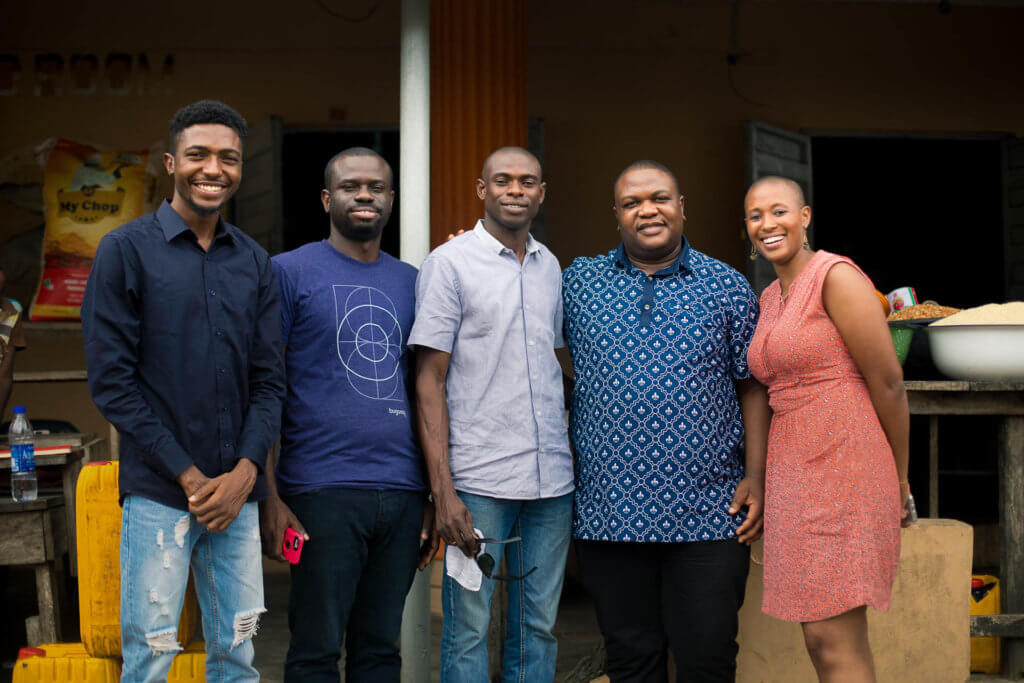 Tosin Olanrewaju, Femi Oladele, Tajudeen Tiamiyu, MD, Ayo Oladimeji, Averi Thomas-Moore