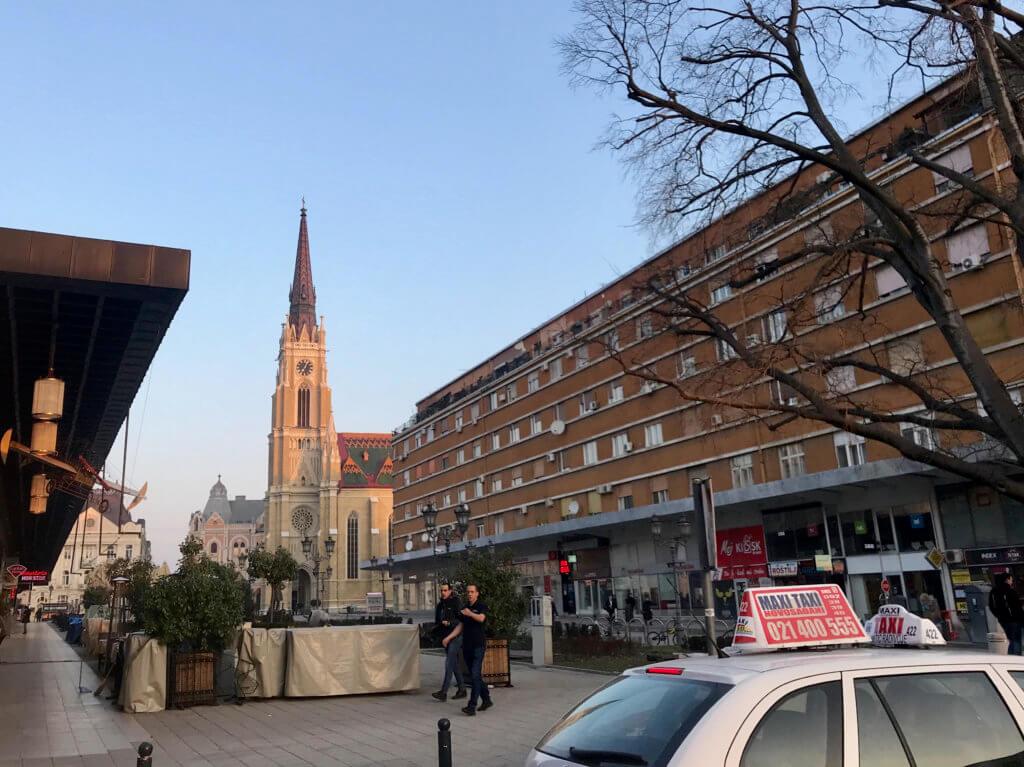Novi Sad taxi
