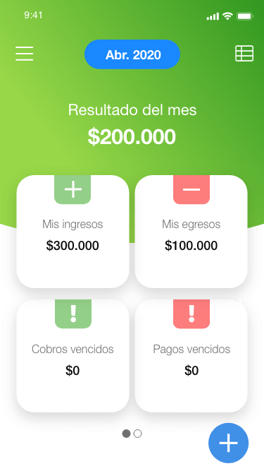 Organizame's financial app for microentrepreneurs