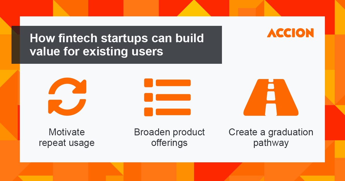 How fintechs can build value for existing users infographic