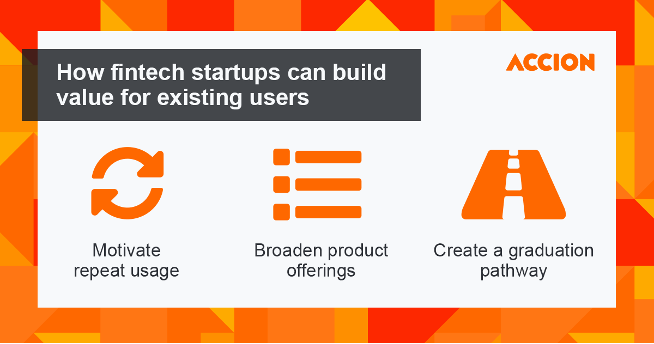 How fintech startups can build value for existing users