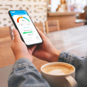 Self Financial's Credit Builder mobile app