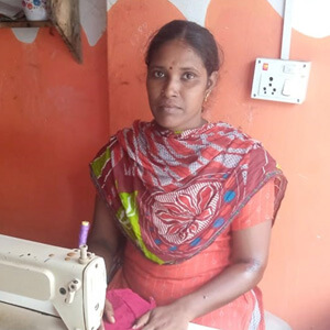 Kasthuri, a client of Dvara in India